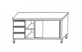 m. Schubladenblock