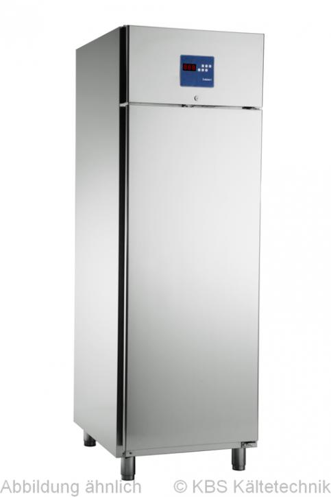 KBS Edelstahl Kühlschrank KU 712