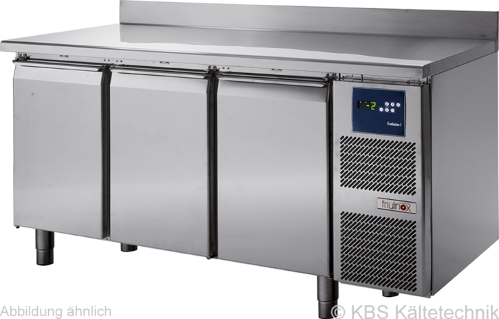 friulinox by KBSKühltisch mit Maschine, 3 Türen undArbeitsplatte