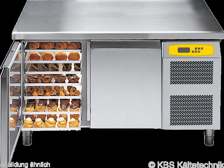 friulinox by KBS Bäckereikühltisch mit Maschine,3 Türen, ohne Arbeitsplatte
