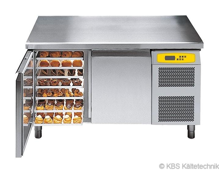 friulinox by KBS Bäckereikühltisch mit Maschine,3 Türen, mit Arbeitsplatte