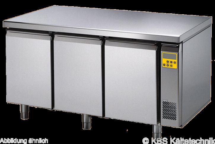 friulinox by KBS Bäckereikühltisch für Zentralkühlung (ohne Maschine),3 Türen, ohne Arbeitsplatte