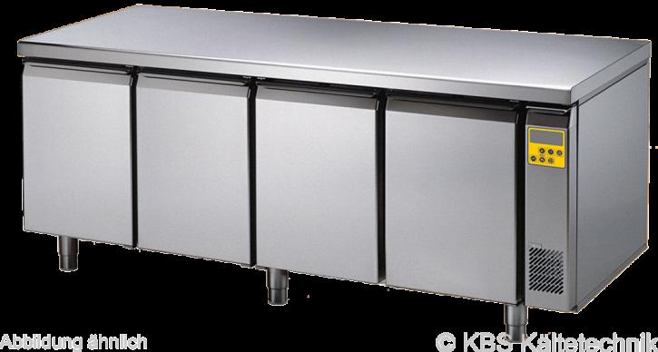 friulinox by KBS Bäckereikühltisch für Zentralkühlung (ohne Maschine),4 Türen, ohne Arbeitsplatte