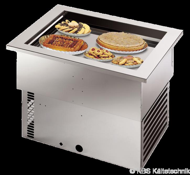 KBS Armonia Bäckerei-Umluft-Einbaukühlwanne mit Maschine für 1 x 600 x 400 mm Backblech