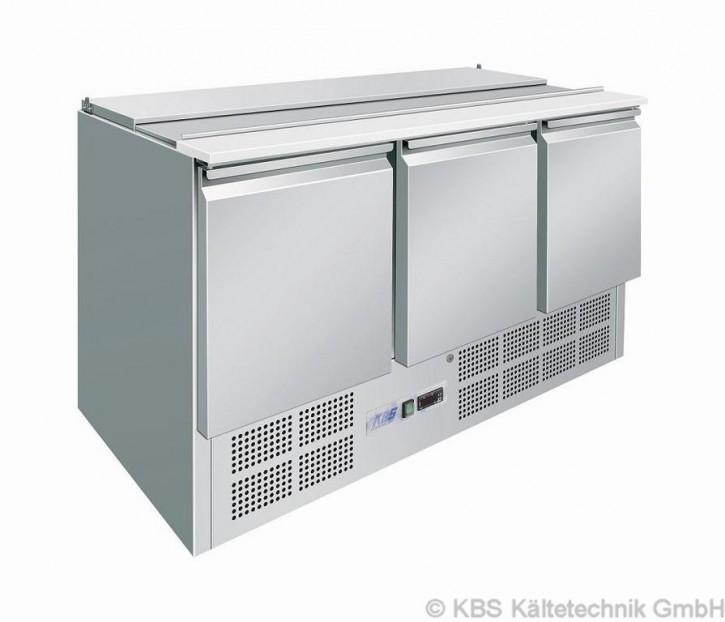 KBS Saladette mit drei Türen für 4x GN1/1