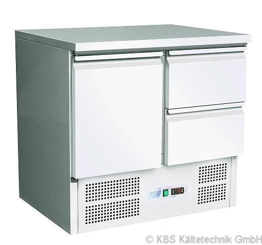 KBS Kühltisch mit einer Tür und zwei Schubladen