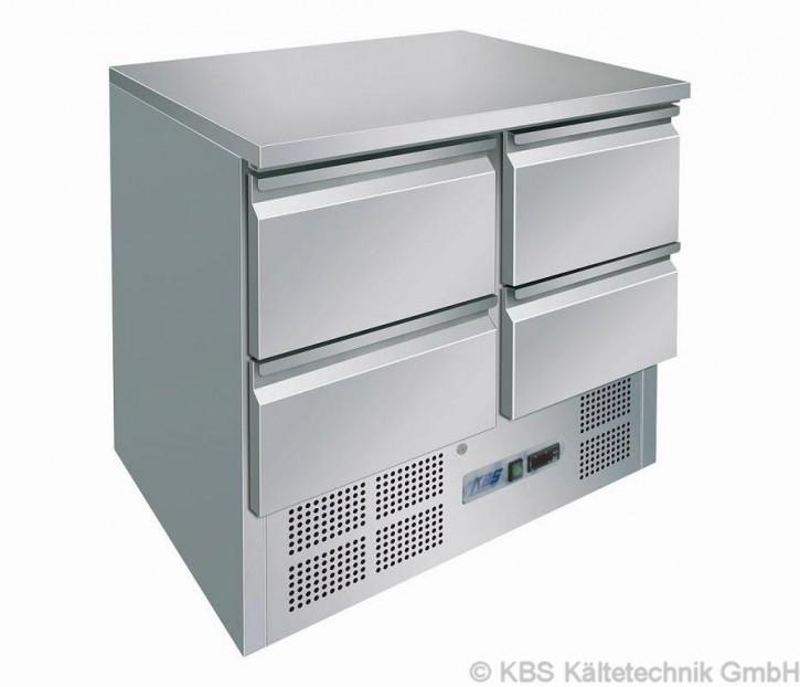 KBS Kühltisch mit 4 Schubladen