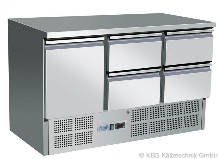 KBS Kühltisch mit einer Tür und 4 Schubladen