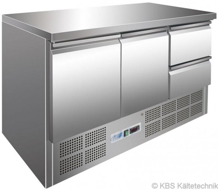 KBS Kühltisch mit2 Türen und 2 Schubladen