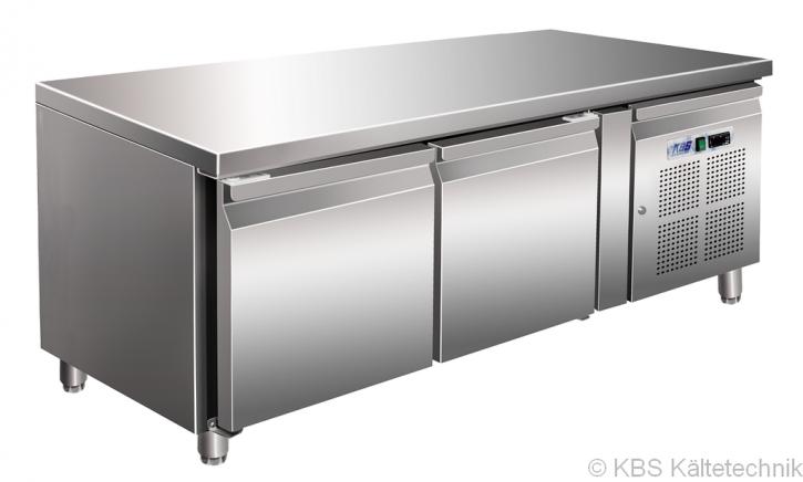KBS Kühltisch CNS mit 2 Türen (GN 1/1)