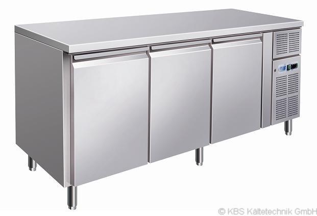 KBS Bäckereikühltisch mit 3 Türen (Einschub EN 600 x 400)