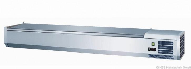 KBS Kühlaufsatz RX 1210 mit CNS- Deckel 4x GN 1/3