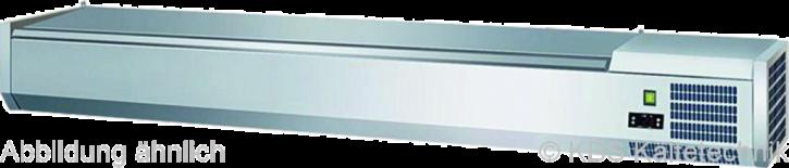 KBS Kühlaufsatz RX 1510mit CNS- Deckel 6x GN 1/3