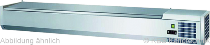 KBS Kühlaufsatz RX 1610mit CNS- Deckel 7x GN 1/3