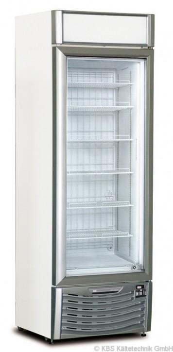 KBS Glastürtiefkühlschrank TK 400 GDU (mit höhenverstellbaren Rosten)