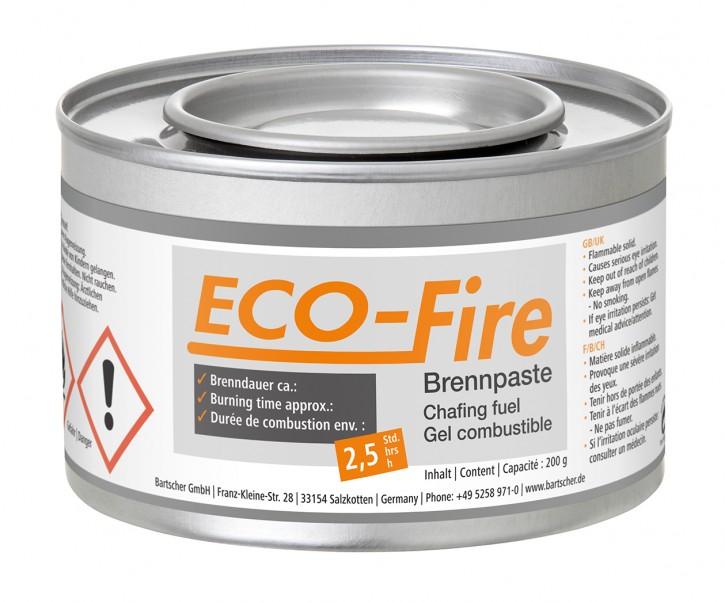 Bartscher Brennpaste Eco-Fire, 200g, DS