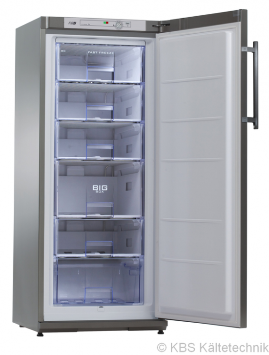 KBS TK 220 CHR Energiespar-Tiefkühlschrank