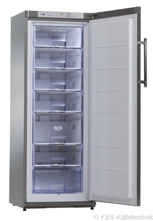 KBS TK 310 CHR Energiespar-Tiefkühlschrank