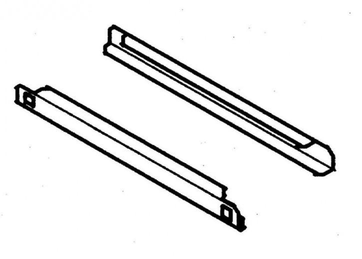 KBS Auflageschienenpaar BKU/BTKU600 / 611/ P600 /P600G