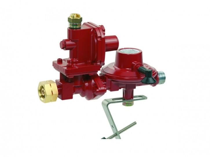 GOK Anschluß-Set 4,0 kg/h Druckregler für Großflaschenanschluß inkl. Gas-Schlauch