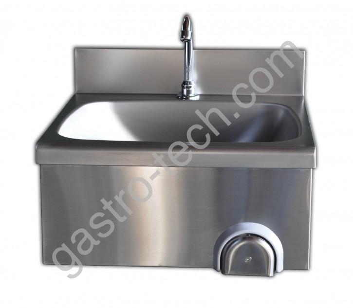 Handwaschbecken 500 x 400 mit Kniebedienung
