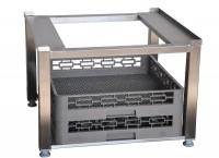 Edelstahl universal Untergestell für Geschirrspülmaschinen 605 x 570 x 450