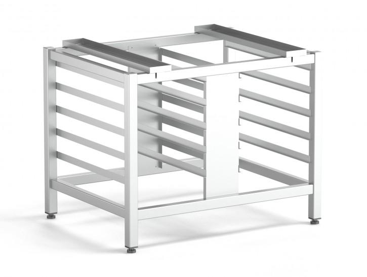 Edelstahl universal Untergestell für Kombidämpfer 920 x 700 x 700
