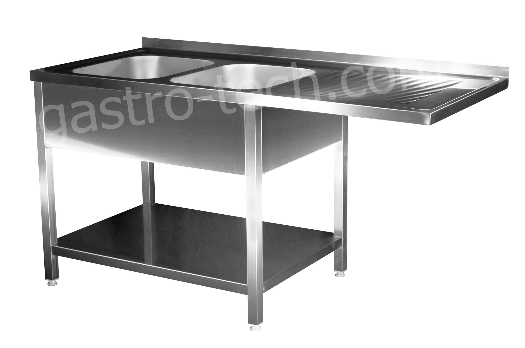 edelstahl sp lcenter b 190 t 70 h 85 2 be li verschwei t sp ltisch sp lmaschine ebay. Black Bedroom Furniture Sets. Home Design Ideas
